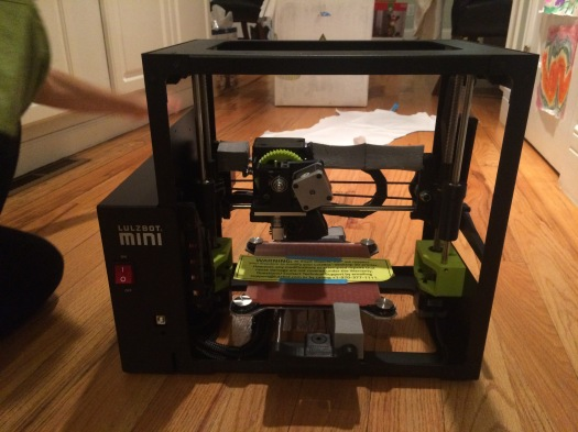 Lulzbot with Tape